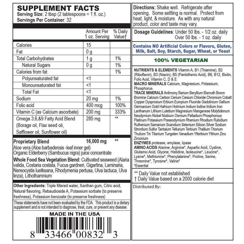 Private Label Children's Liquid Multivitamin For Kids Manufacturer