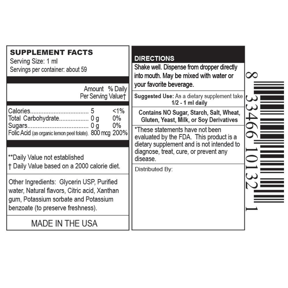 Private Label Organic Folic Acid Manufacturer