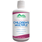 Private Label Children's Vegetarian Whole Foods Liquid Multivitamin