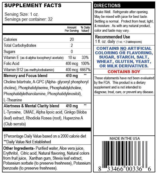 Private Label Brain Health Supplement Manufacturer