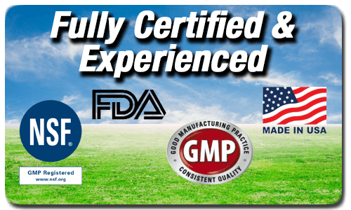 NSF FDA GMP Supplements Manufacturer