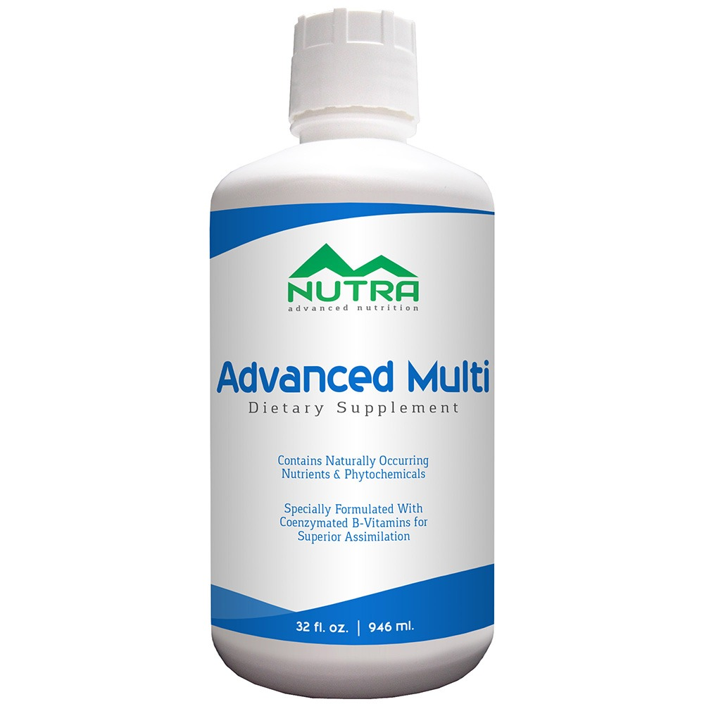 Private Label Advanced Multivitamin Liquid Supplement