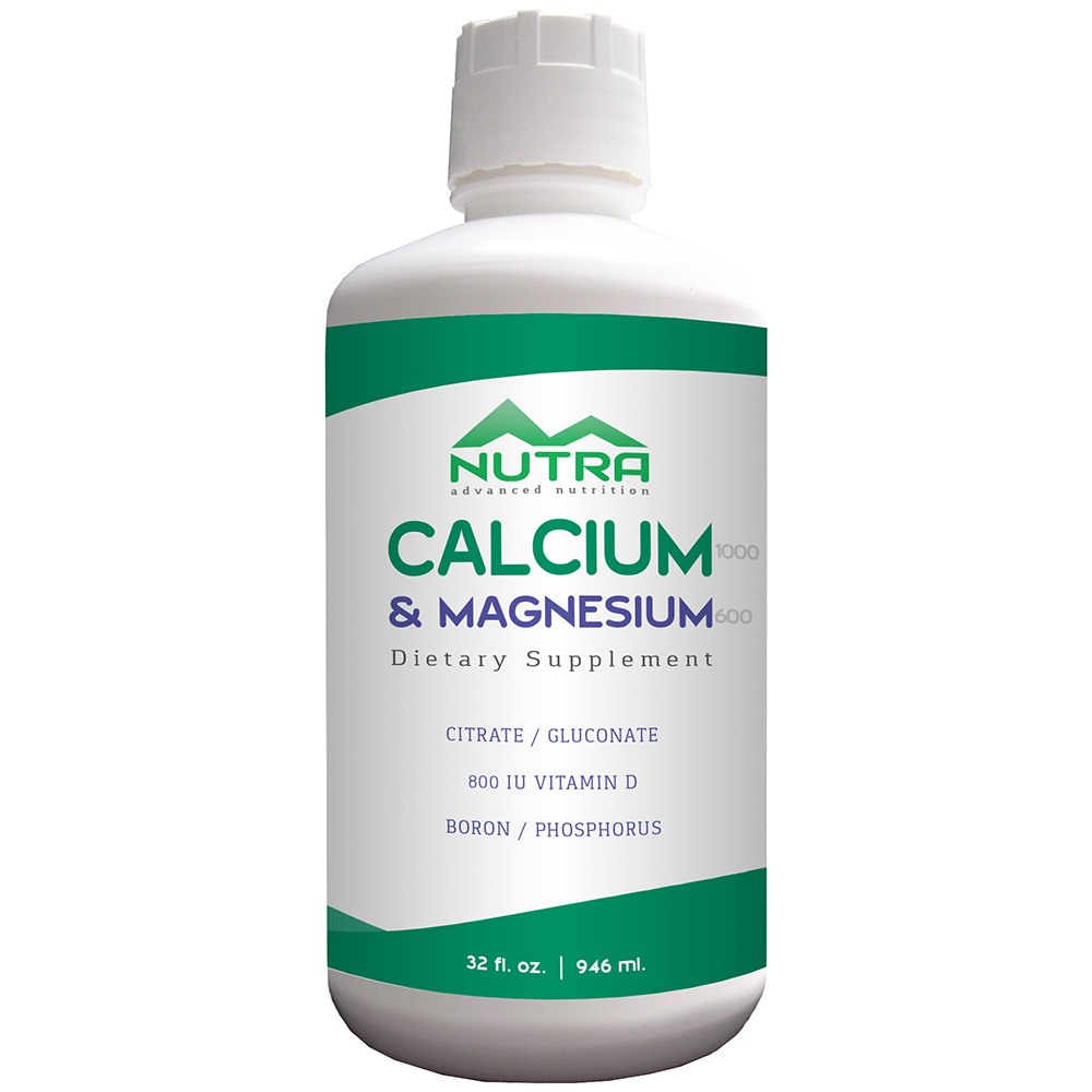 Private Label Calcium Magnesium Liquid Supplement