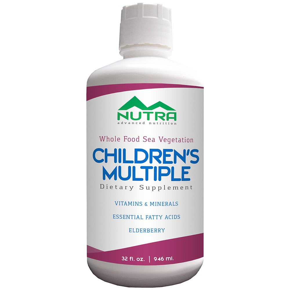 Private Label Children's Vegetarian Whole Foods Liquid Multivitamin