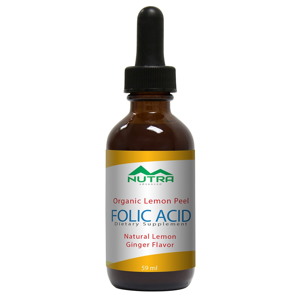 Private Label Organic Folic Acid Supplement