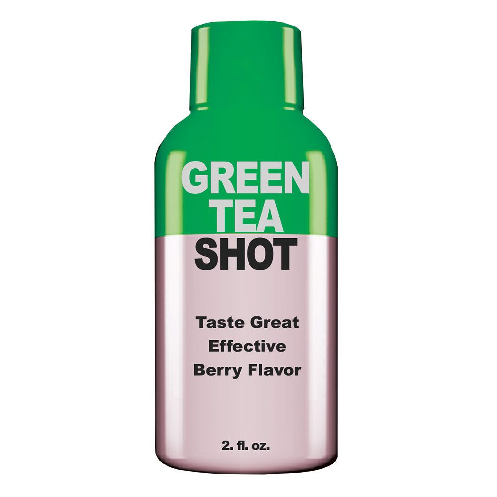Private Label Green Tea Shots Manufacturer