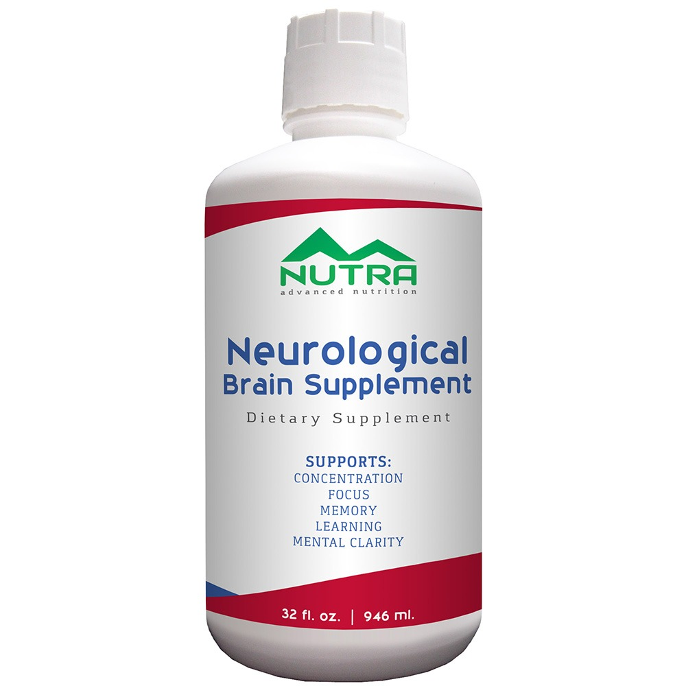 Private Label Neurological Brain Health Liqud Supplement