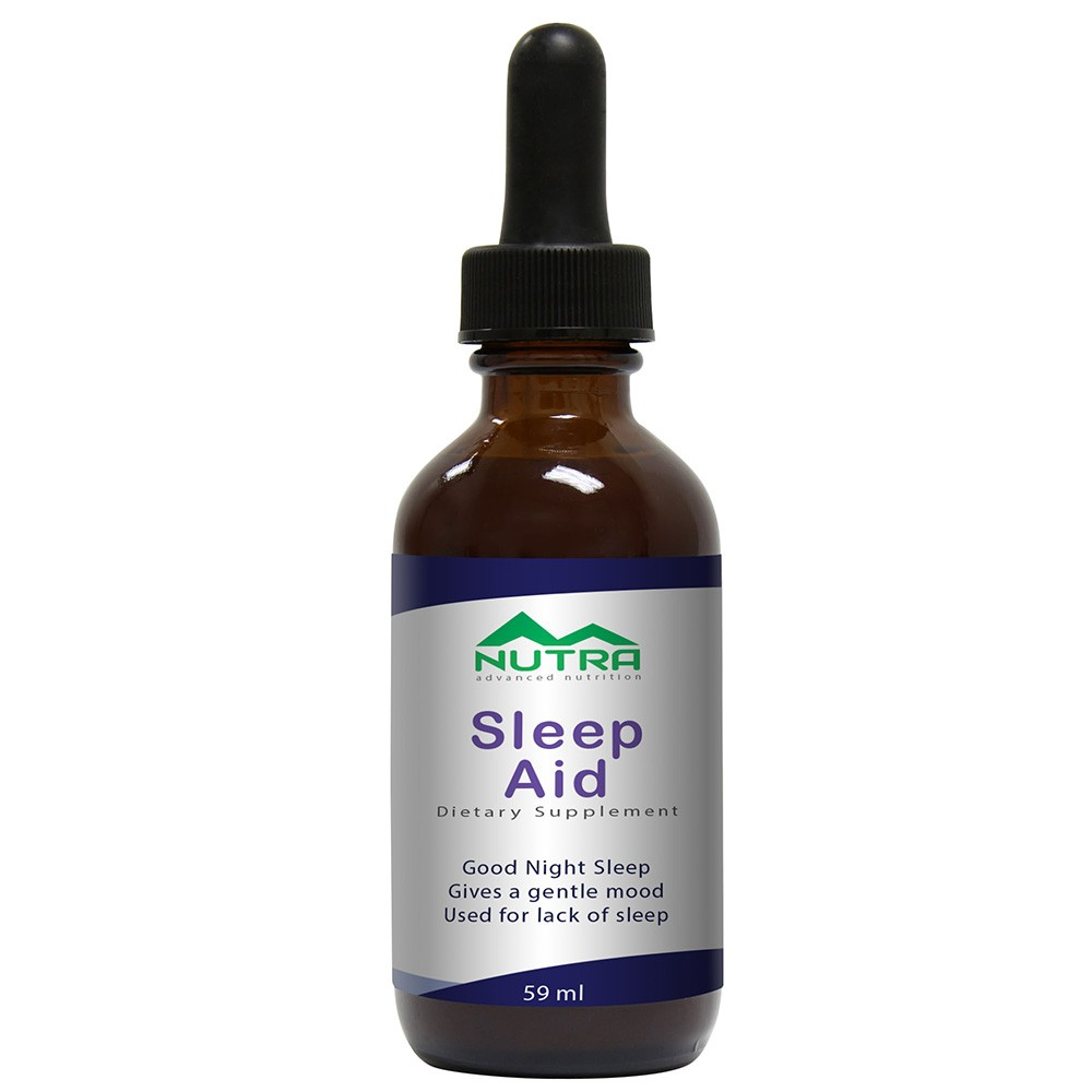 Private Label Sleep Aid Natural Liquid Supplement