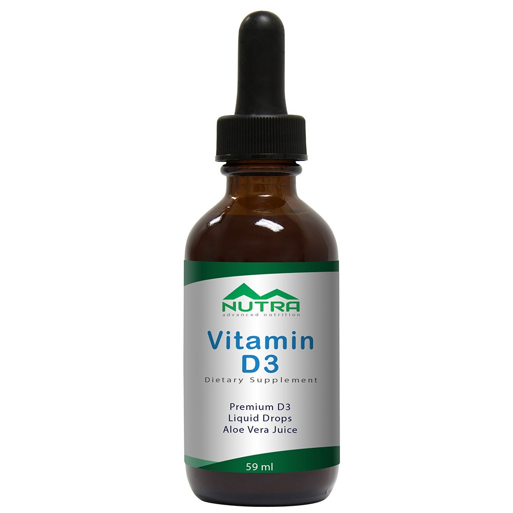 Private Label Vitamin D3 Liquid Supplement