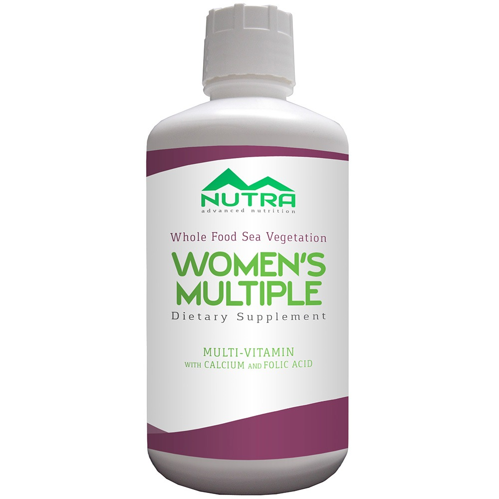 Private Label Women's Liquid Multivitamins