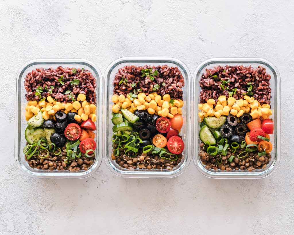 taco salad meal prep with 13 essential vitamins