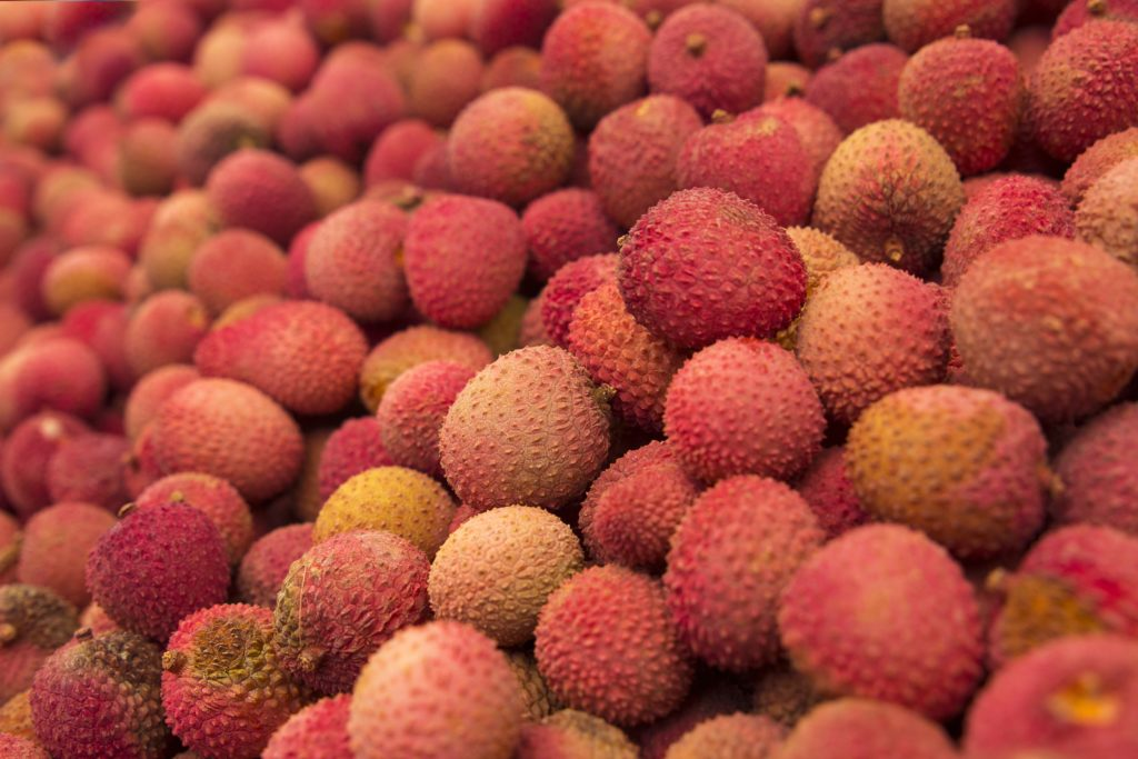 pile of lychee in weird fruits you may not know exist