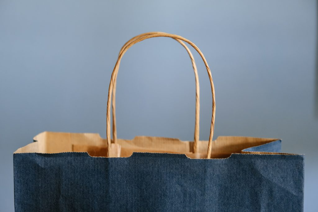A shopping bag